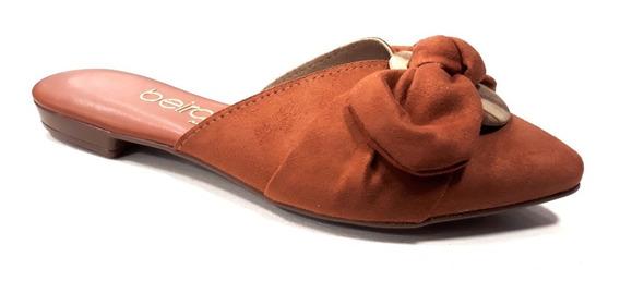 Zapato Mujer Beira Rio Mule Moño Cod 4134.464
