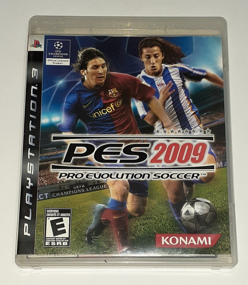 Pes 2009 Pro Evolution Soccer - Original - Ps3