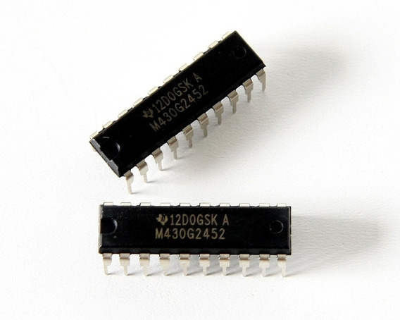 Microcontrolador Texas Instruments Msp430 Msp430g2452