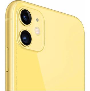 iPhone 11 Amarelo 64gb Modelo A2111 Mwlc2ll/a Desbloqueado