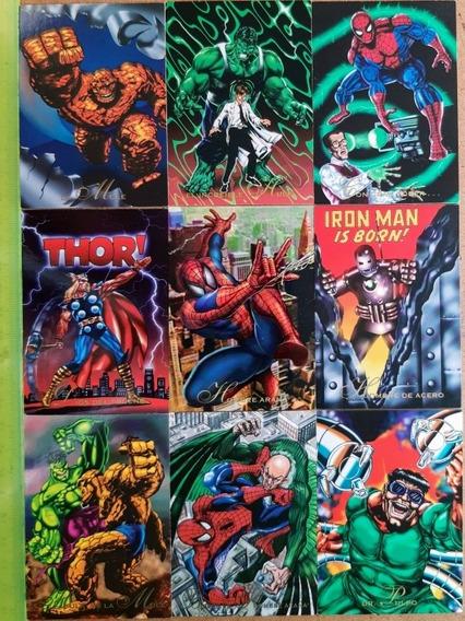 Lote De 90 Pepsicards Marvel. Tlajomulco De Zuñiga, Jalisco.