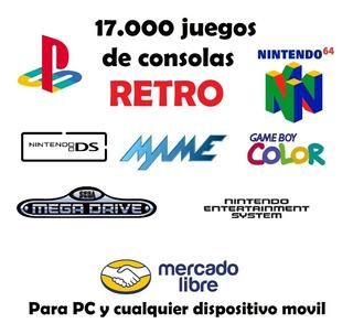 17.000 Juegos De Consolas Retro - Digital