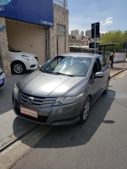 Honda City Ex 1.5 Flex Aut Cinza 2011