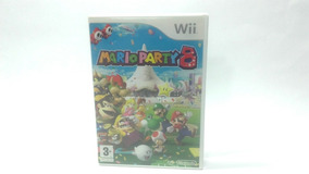 Box Mario Party 8 Original Wii Europeu ( Caixa Vazia )
