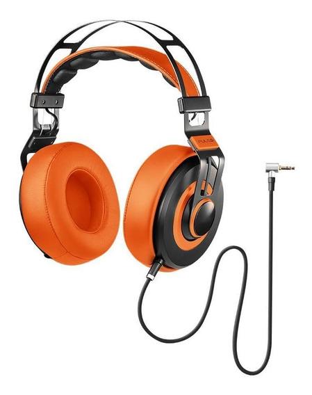 Headphone Fone De Ouvido Premium Wired Pulse Laranja Ph239