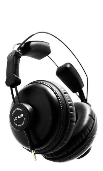 Superlux - Fone Hd669 Para Estúdio - Frete Grátis