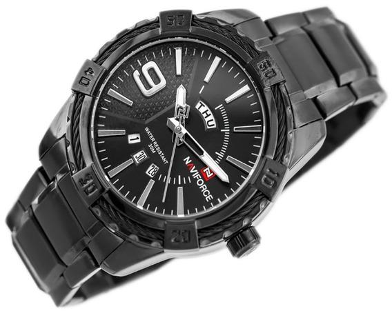 Relógio De Pulso Casual Naviforce Nf9117 Masculino + Caixa