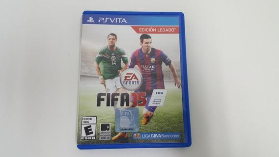 Jogo Fifa 15 - Ps Vita - Original
