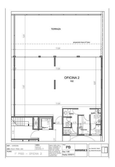 Sonoma 3, Amplia Oficina , Con La Mejor Ubicación, A Media Cuadra De Plaza Alberdi !