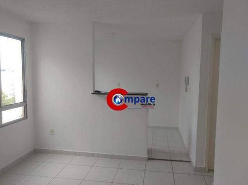 Imagem 1 de 19 de Apartamento Com 2 Dormitórios À Venda, 45 M² Por R$ 175.000,00 - Bonsucesso - Guarulhos/sp - Ap7531