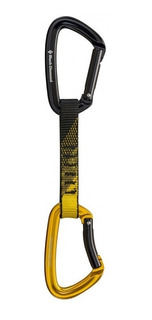 Anillas Black Diamond Positron Quickdraw 12 Cm Para Escalada