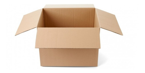 Imagen 1 de 3 de Cajas De Cartón 40x30x30 / Pack 25 Cajas / Cart Paper