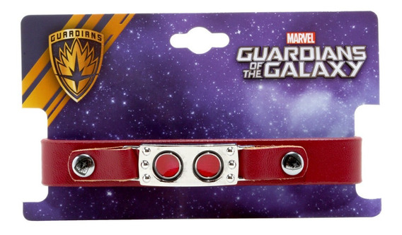 Pulsera Brazalete Marvel Guardians Galaxy Original Hottopic