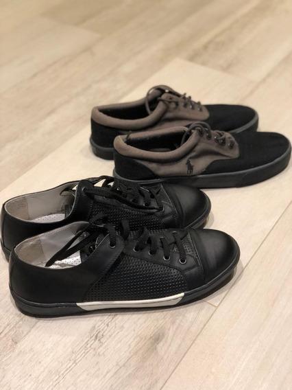 Sapatênis - Calvin Klein & Polo Ralph Lauren