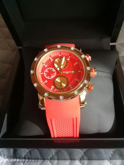 Reloj Nivada Mujer Naranja
