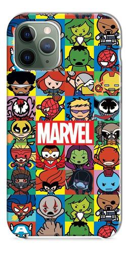 Funda Estuche Forro Super Hero Marvel Xiaomi Nokia Asus