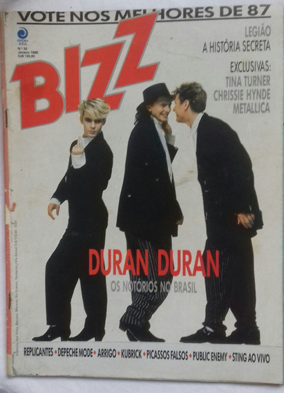 Revista Bizz - Nº 30 - Duran Duran - Janeiro 1988