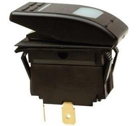 Chave Interruptor 12v 16a Liga Desliga Motor Home Barcos