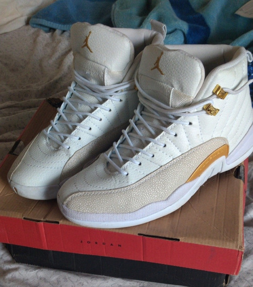 Air Jordan 12 Retro Ovo White