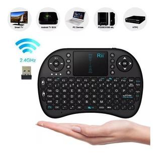 Mini Teclado Inalambrico Smart Tv Box Pc, Control Tv