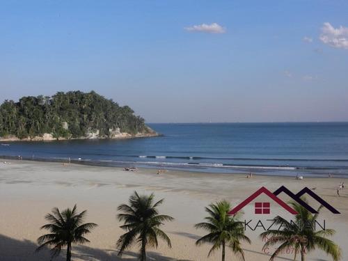 Apartamento Pe Na Areia 3 Dormitorios 1 Suite - Jose Menino - Santos - 4880