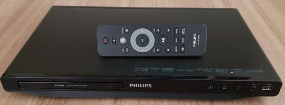 Reprodutor Dvd Philips Dvp3880k Karaoke Perfeito Estado