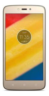 Moto C Plus Dual SIM 8 GB Ouro-fino 1 GB RAM