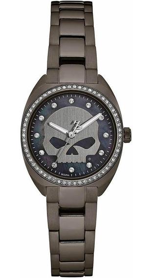 Reloj Harley Davidson 78l124 Acero Nuevo Original E-watch