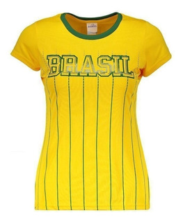 Camisa Brasil Xingu Feminina