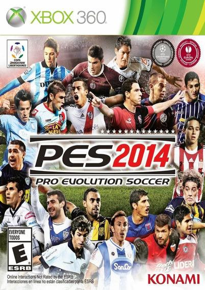 Frete10$ Pes 2014 Pro Evolution Soccer Xbox 360 Mídia Física