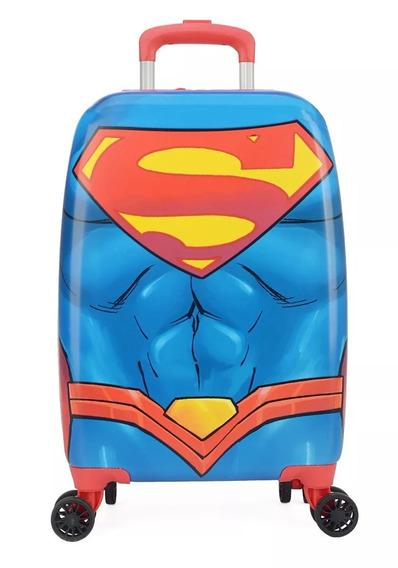Malinha Escolar Super Men 10182 - Original