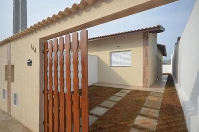 Casa Em Fase De Acabamento No Jardim Iemanjá, 135m² Ref 4226