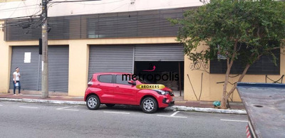 Salão Para Alugar, 200 M² Por R$ 5.000/mês - Santo Antônio - São Caetano Do Sul/sp - Sl0085