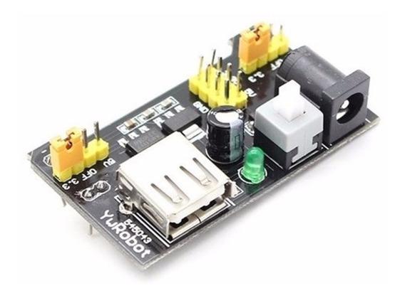 Fonte De Alimentação 3.3v 5v Para Protoboard Arduino Pic Esp