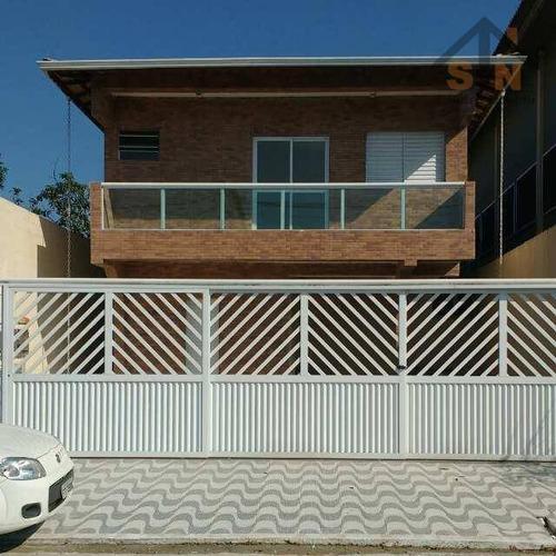 Imagem 1 de 14 de Sobrado Com 2 Dormitórios À Venda, 59 M² Por R$ 233.000,00 - Vila Tupiry - Praia Grande/sp - So0212