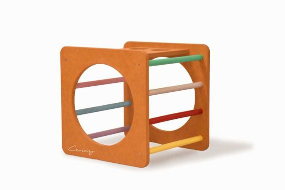 Cubo Montessori/waldorf/pikler - Cersary Design