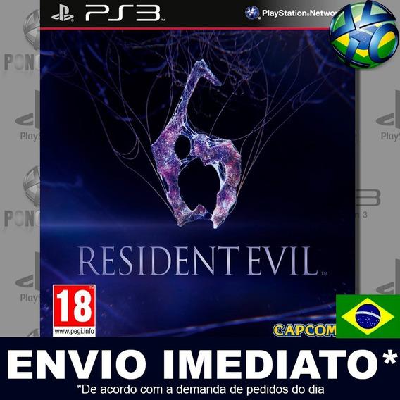 Resident Evil 6 Ps3 Digital Psn Legendado Português Pt Br Jogo Em Promoção