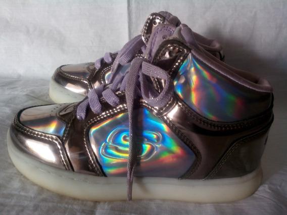 Zapatos Para Niñas Skechers 17.5cm