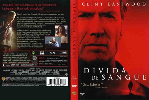 Dvd Filme Divida De Sangue - Clint Eastwood