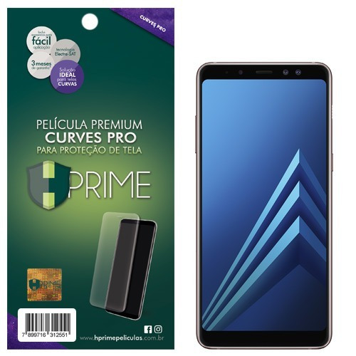 Película Premium Hprime Samsung Galaxy A8 2018 - Curves Pro