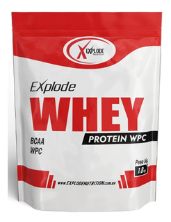 100% Whey Explode Nutrition 1,8kg Refil