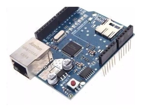 Módulo Ethernet Shield W5100 Arduino