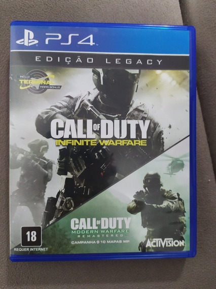 Call Of Duty Infinite Warfare Edição Legacy Ps4