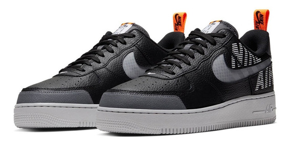 Tênis Nike Air Force 1 Low Under Construction Black