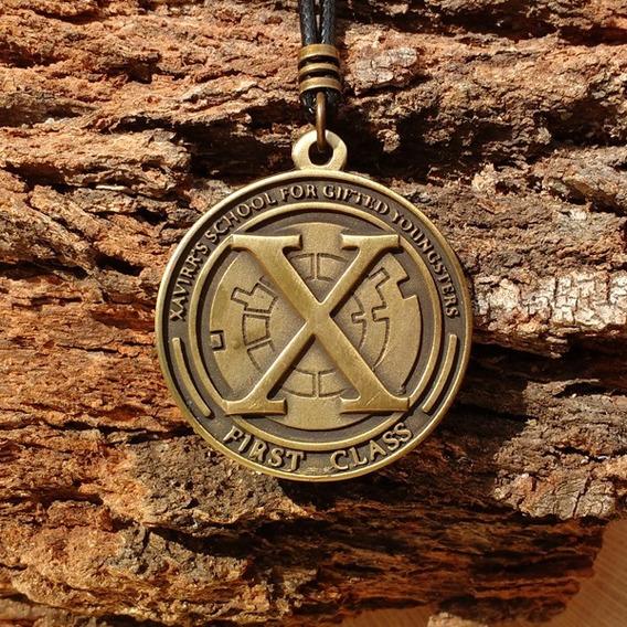 Colar X-men Instituto Charles Xavier Super Poderes Marvel