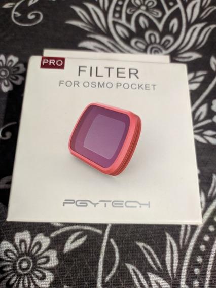 Filtro Nd Para Osmo Pocket Pgytech / Caixa Com 4