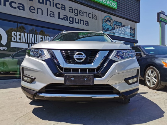 Nissan X-trail Advance Cvt, Modelo 2018, Color Plata