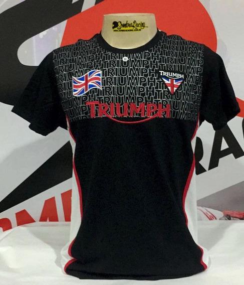 Camiseta Triumph 2019 Tiger Bonneville Street Triple