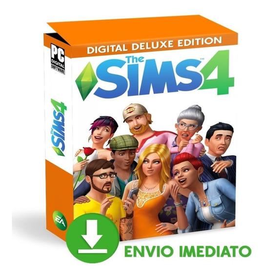Jogo The Sims 4 + Expansões + Dlcs + Pacote De Jogos