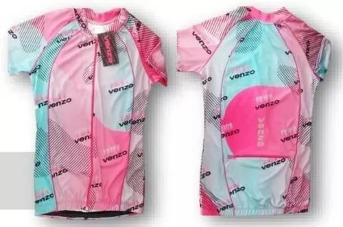 Remera Ciclismo Jersey Venzo Frida Lola Dama - Racer